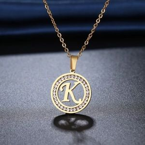 Stainless Steel Various letter K Necklaces